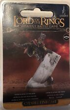 Groblog Goblin King Of The Deeps Unpainted Finecast LOTR model