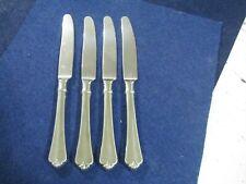 """New listing """"Julliard"""" Oneida Cube Stainless Steel.4 Dinner Knives"""