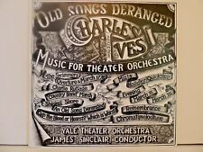 SEALED ! Charles Ives:James Sinclair:Yale Orch. LP Old Songs Deranged, M 32969