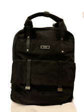 Tumi black nylon backpack with laptop insert