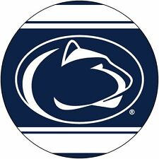 "PENN STATE 4"" DECAL w/ STRIPE-PENN STATE DECAL STICKER-NEW FOR 2016!"
