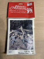 Valiant Miniatures US Marine Machine Gun Team 9827 Lead Soldiers