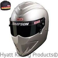 Simpson Diamondback Auto Racing Helmet SA2015 - All Sizes & Colors (Free Bag)