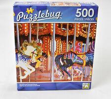 Jigsaw Puzzle 500pc Old Fashioned Carousel Horses New Puzzlebug TY98