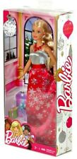 """2017 Holiday Christmas Barbie 11"""" Fashion Doll in Snowflake Dress NRFB IN HAND!"""