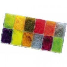 Fly Tying Dubbing, Seals Fur Dubbing Dispenser Box. No 2 Box, 12 Colours