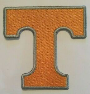 """Tennessee Volunteers~VOLS~Embroidered Patch~3 1/2"""" x 3 1/2""""~Iron or Sew On~NCAA"""