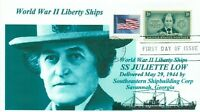 JULIETTE LOW Liberty Ship named: American Founder Girl Scouts Portrait First Day