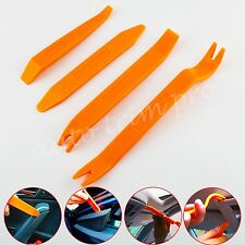 4PCS Auto Car Installer Door Plastic Dash Clips Panel Audio Removal Pry Tool Kit