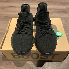 NEW Adidas Kanye Yeezy CP9652 Boost 350 V2 Bred Black/Red Mens UK Size 7,5