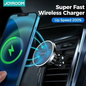 15w Qi Magnetic Wireless Car Charger Phone Holder for iPhone 12 Pro Max
