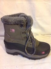 Girls Karrimor Grey Boots Size C1
