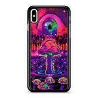 Illuminati One Eye Secret Society Freemasonry Space Mushrooms Phone Case Cover