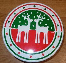 Cheinco Chris Reindeer Round Tin - VINTAGE - 1986