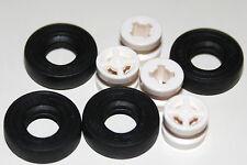 8 lego parts 4 X 4516843: Tyre D8 Sebs 4 462401: Rim Narrow W. Hole Ø8 4 wheels
