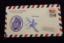 SPACE COVER 1989 HAND CANC STS-30 MAGELLAN HOMETOWN ASTRONAUT MARY CLEAVE (4902)