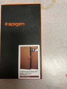 Spigen Wallet S Flip Cover Case for Galaxy S8 with card slots