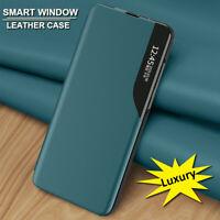 Smart View Leather Flip Case Cover for Xiaomi Mi 10T Pro 10T Lite Poco X3 NFC M3