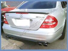 Carbon Fiber For 03- 09 M Benz W211 4Dr E55 E63 E350 E500 AMG Rear Spoiler Wing
