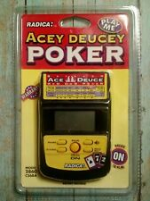 NEW RADICA ACEY DEUCEY RED DOG POKER HANDHELD GAME