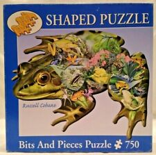 Bits And Pieces 45651 Frog Oasis 750 piece shaped jigsaw puzzle, Russell Cobane