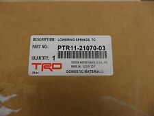 2005-2010 Scion tC TRD LOWERING SPRINGS! BRAND NEW! FREE SHIPPING!