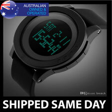WATERPROOF DIGITAL SKMEI SPORTS MILITARY WATCH Army Mens Water Resistant Gold 31
