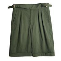 Plus Size Vintage British Army Gurkha Shorts Men's Chino Military Short Pants SZ