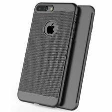 Ultra Thin Case Apple iPhone 10 X 8 7 6s 5s Luxury Slim Pc Mesh Hard Back Cover