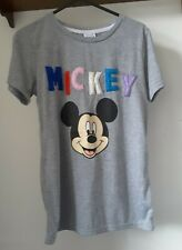 Mickey Mouse Grey T-shirt - UK Size 4