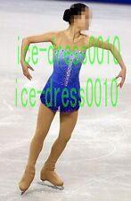 2018 new style Figure Skating Sleeveless Dress Ice Skating Dance Dress 8962