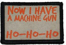 Die Hard Ho Ho Ho Machine Gun Morale Patch Tactical Military Army Flag Usa