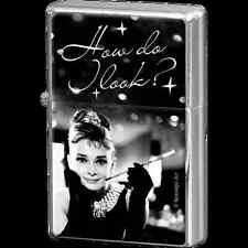 Accendino Zippo Repro Vintage Design Mod. Audrey Hepburn - Holly Golightly