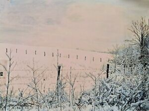 William McNamara - Fowler's Field - Pigment Print Painting Artist Proof AP/250