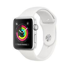Apple Watch Series 3 smartwatch, 42 mm, Argento OLED GPS (satellitare) Watch Ser