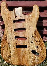 Strat Body. AAWESOME SPALTED TOP!!