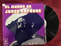 EL MUNDO DE JORGE CAFRUNE LP VINILO TIERRA QUERIDA ...