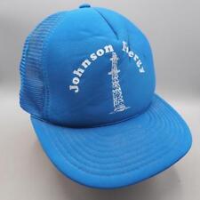 Vintage Johnson Energy Mesh Zaino Regolabile Cappello Camionista Cappello a51251dba9f0