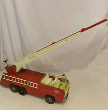 Vintage 1970's Tonka AERIAL LADDER Pressed Steel FIRE TRUCK #2960 Made in USA