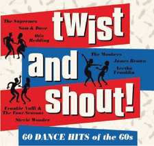 TWIST AND SHOUT - 60 DANCE HITS OF THE 60s CD 2017