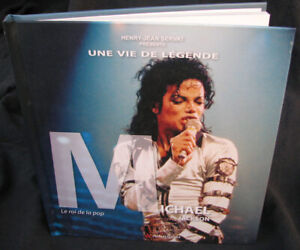 Michael Jackson Livre UNE VIE DE LEGENDE French FR Book 2010