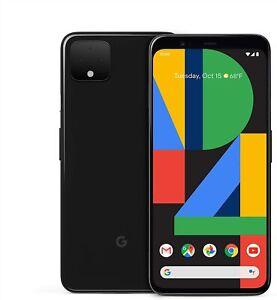 Factory Unlocked Google Pixel 4 XL [128GB] Black