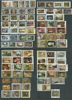 Famous Picture Stamps Collection