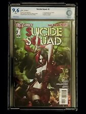 SUICIDE SQUAD 1 CBCS 9.6 Harley Quinn DC Comics 2011 New 52