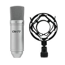 Omnitronic MIC CM-77 Condenser Studio Microphone Recording Vocal