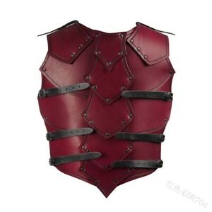 Armor Vest Vintage Medieval Steampunk Chest Cosplay Knight Costume Breastplate
