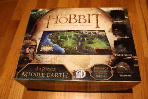 4D Hobbit Middle Earth 3D Time Puzzle (1390 Piece) City Scape