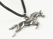 Running Horse  English Pewter Pendant