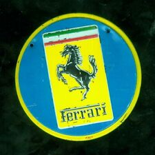 1953 Wheaties cereal premium car emblem - Ferrari