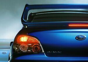 SUBARU BLUE CAR Poster Print A6 A5 A4 A3 A2 A1 A0